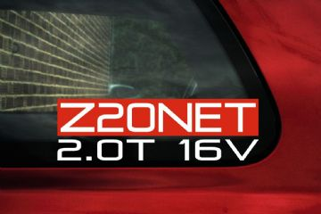 """Z20NET 2.0T 16v "" Opel / GM Turbo engine code sticker"